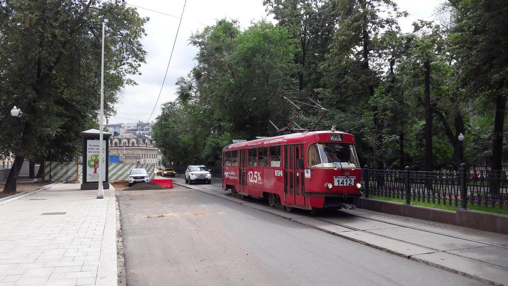 Tramvaje zatím do centra Moskvy můžou, rekonstrukci ulic ustoupit nemusí.