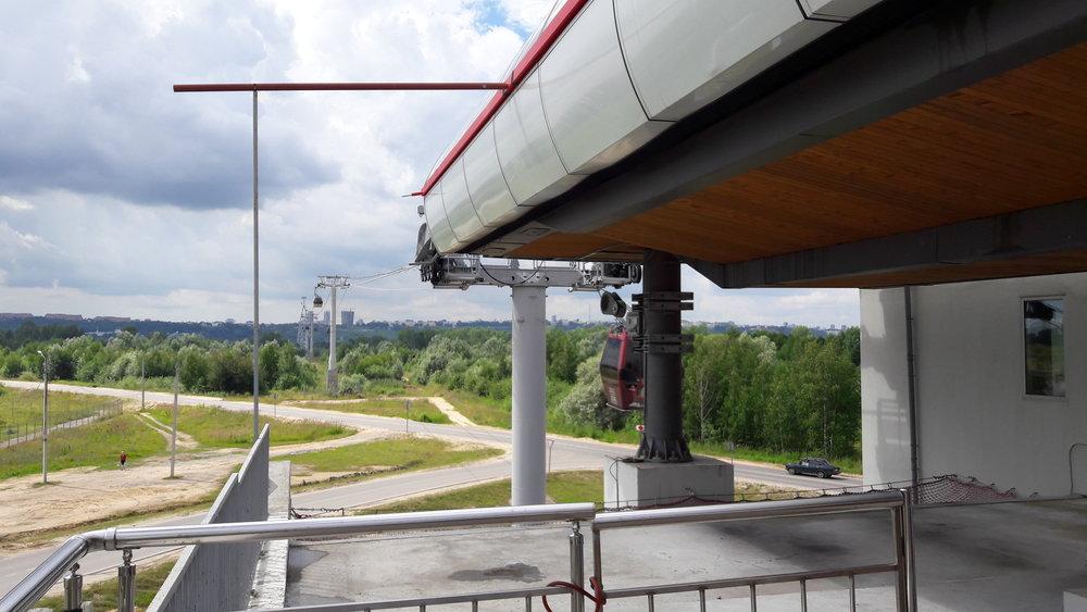 Dolní stanice lanové dráhy (Bor)