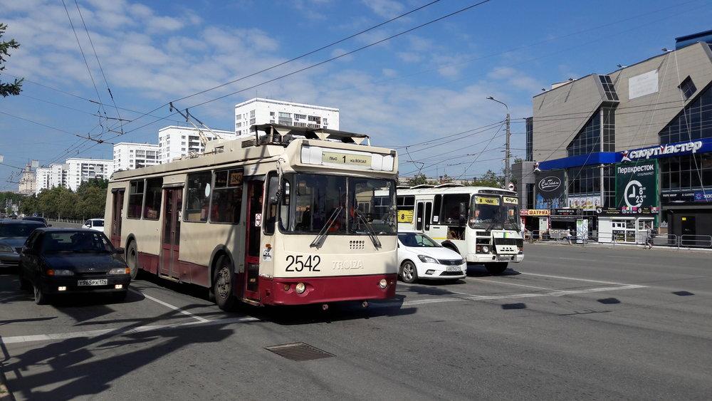 Čeljabinské trolejbusy nepatří mezi nejmladší.