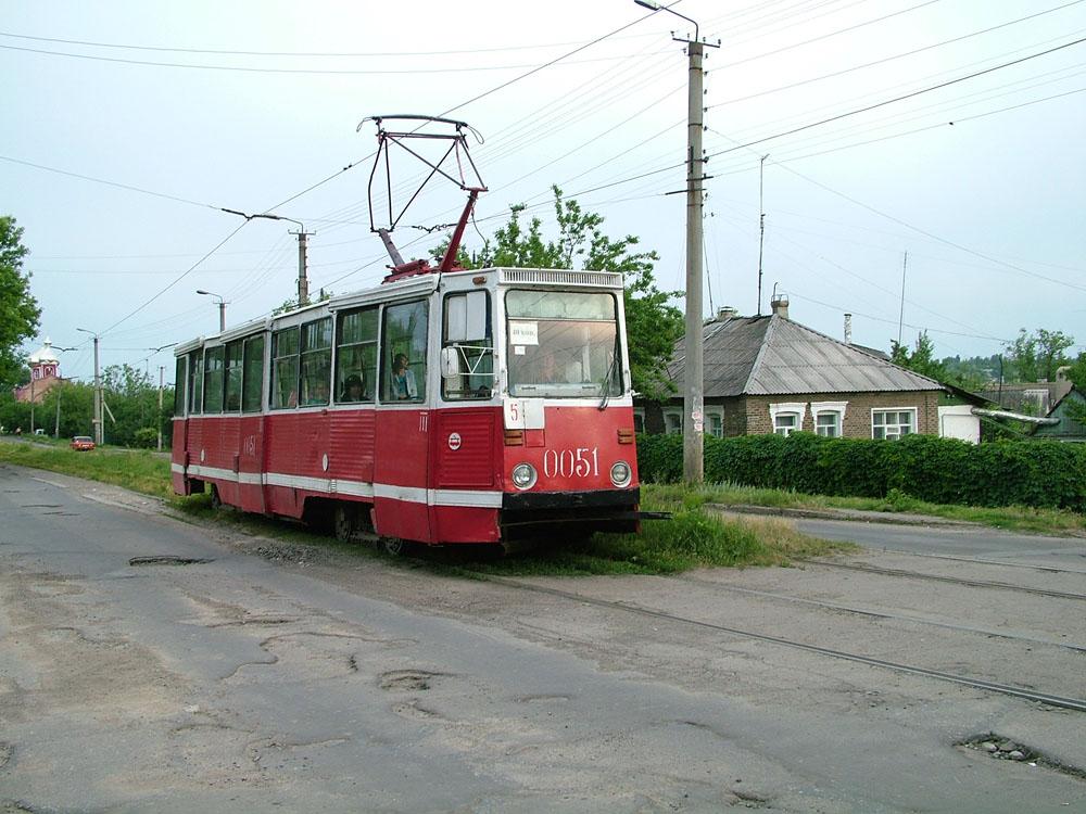 Vozový park se smrskl na pouhých 8 osobních a dva služební vozy.(zdroj: Yury Maller, http://ymtram.mashke.org)