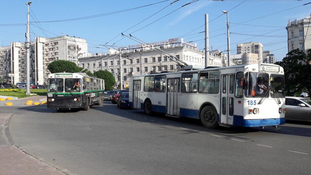 Mají trolejbusy v Jekatěrinburgu stejnou šanci na rozvoj jako tramvaje?