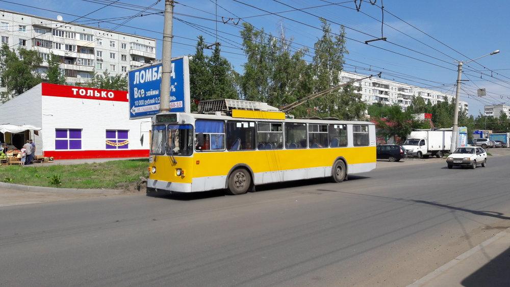 Konečná ul. Gašeka (jihovýchodní okraj města).