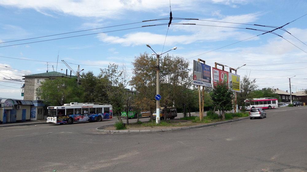 Snímky ze smyčky Sosnovyj Bor.