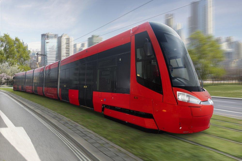 Tramvaj ForCity Plus pro Bratislavu. (zdroj: Škoda Transportation)