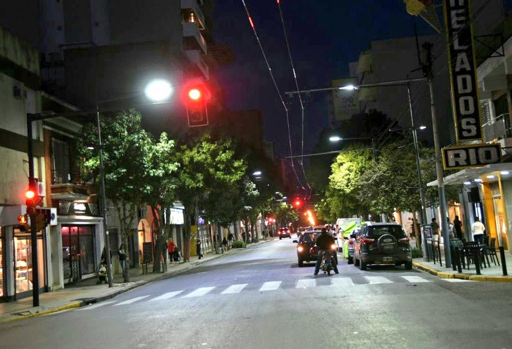 Trolej v ulicích města prošla částečnou obnovou. (zdroj: Municipalidad de Rosario)