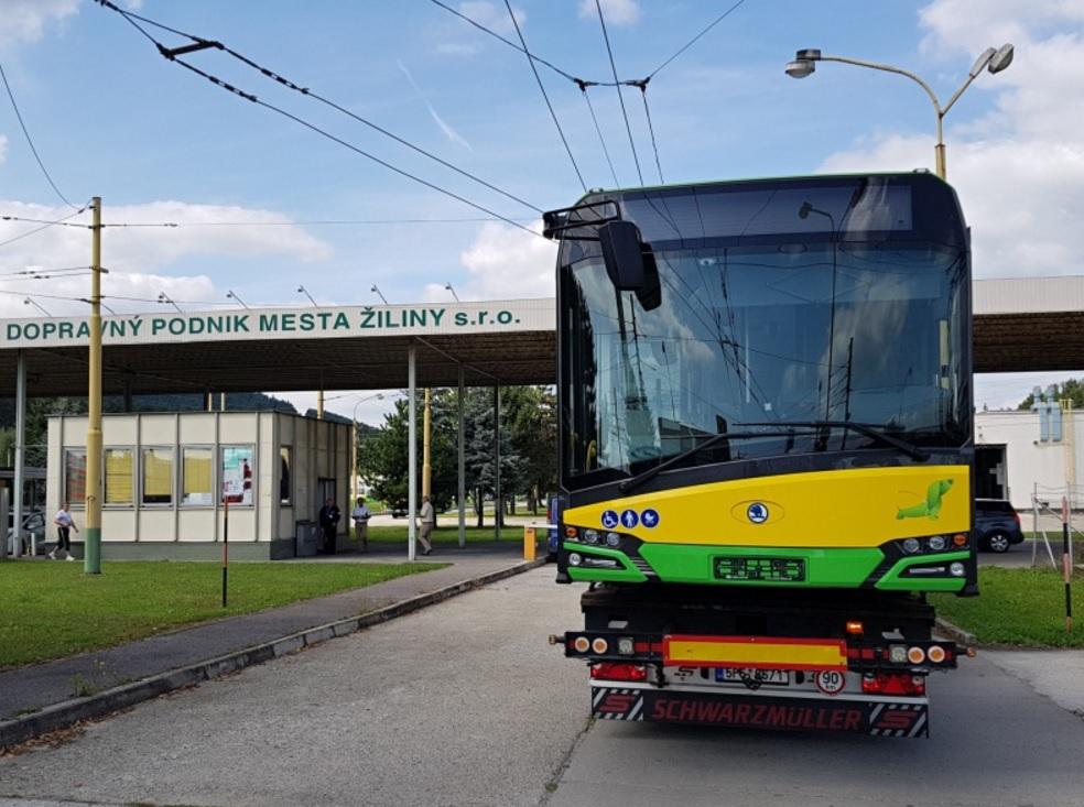 Trolejbus Škoda 27 Tr - Solaris pro Žilinu. (foto: DPMŽ)