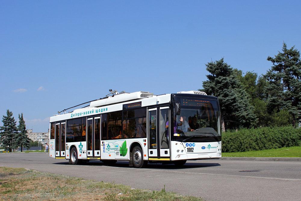 Trolejbus Dnipro-T203 v Dněpropetrovsku. (foto: Andrej S.)