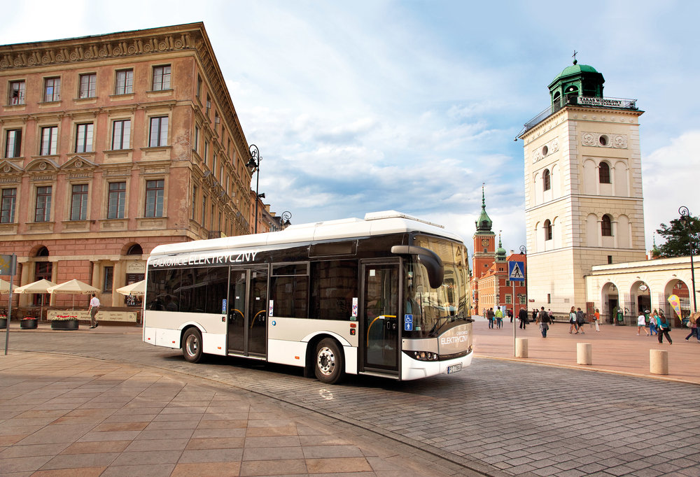 Solaris Urbino 8,9 LE je nejmenším z elektrobusů nabízených Solarisem. (foto: Solaris Bus & Coach)