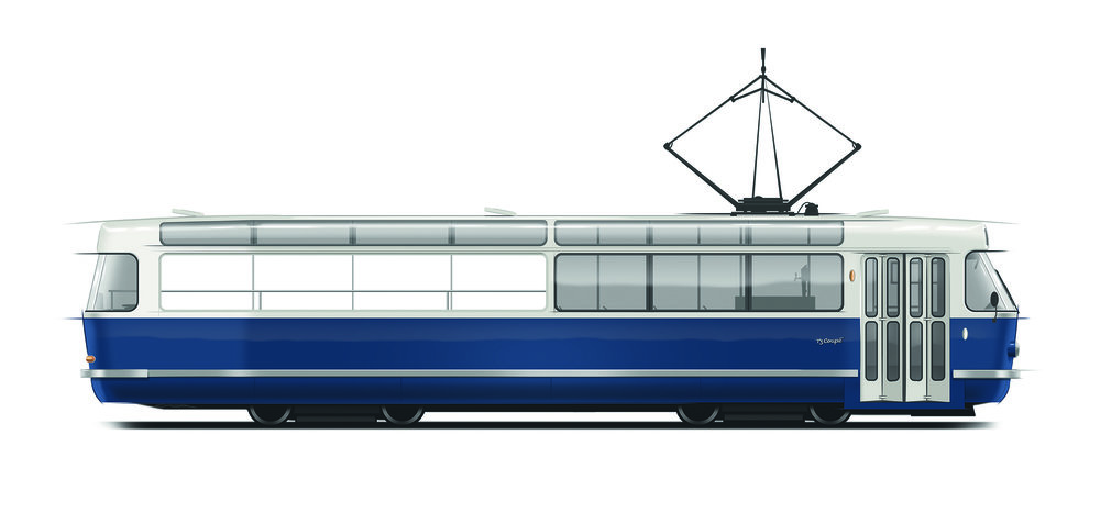 Vůz T3 Coupé pražského DP. (zdroj: DPP)
