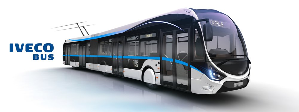 Trolejbusy Iveco Crealis by měly disponovat elektrickou výzbrojí Škoda. (zdroj: Iveco Bus)