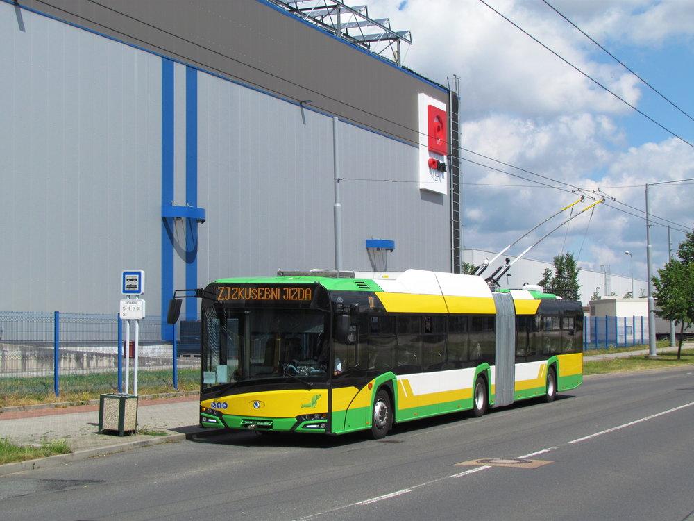 Trolejbusy v provedení Nového Trollina byly doposud dodány jen do Žiliny. (foto: Zděnek Kresa)