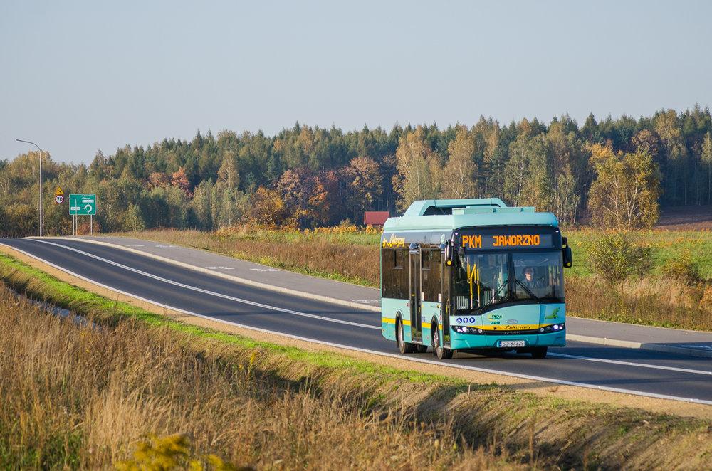 Elektrobus pro Jaworzno v délkovém provedení 8,9 m. (foto: Solaris Bus & Coach)