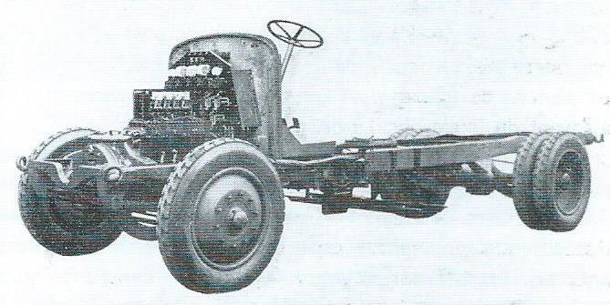 Podvozek Renault-SCEMIA typu PY z roku 1928 s elektrickou výzbrojí VETRA (foto: VETRA / archiv G. Mullera)