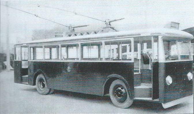 Trolejbus CS 48 v Casablance. (foto: VETRA / archiv G. Mullera)