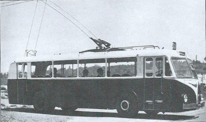 Vůz typu TEA 1 vyrobený pro Casablancu se stal předchůdcem vozu TEB 1. (foto: VETRA / archiv G. Mullera)