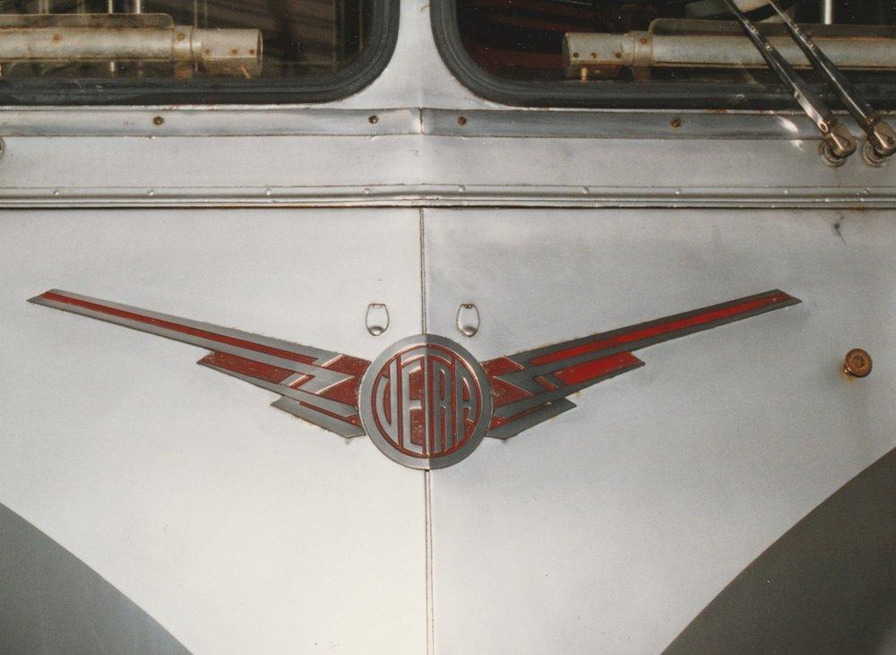 Logo Vetry na vozidle typu CB 60. (foto: Roland le Corff)