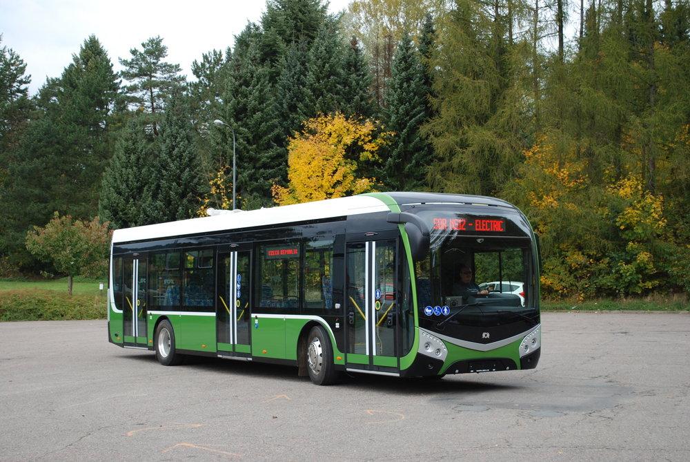 Elektrobus SOR NS 12 electric (druhý prototyp). (foto: Libor Hinčica)