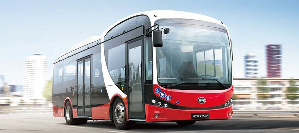 Midibus BYD o délce 8,75 m. (foto: BYD)