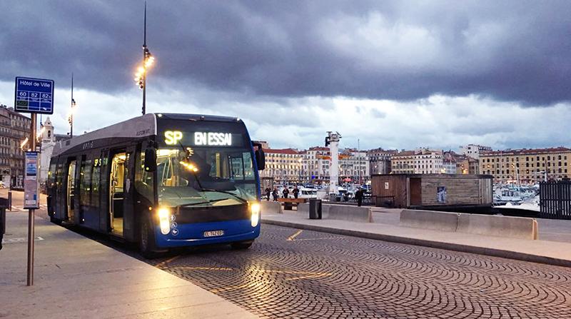 Elektrobus Aptis prozatím existuje ve formě dvou prototypů. (foto: Alstom)