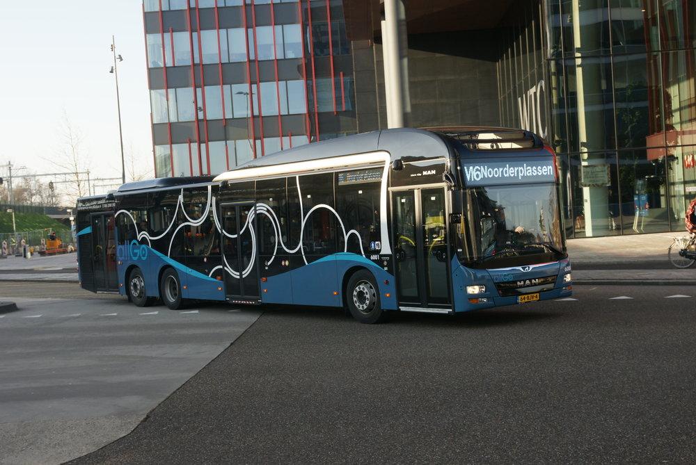 Autobus MAN Lion's City L pro nizozemský Keolis. (foto: MAN Truck & Bus)