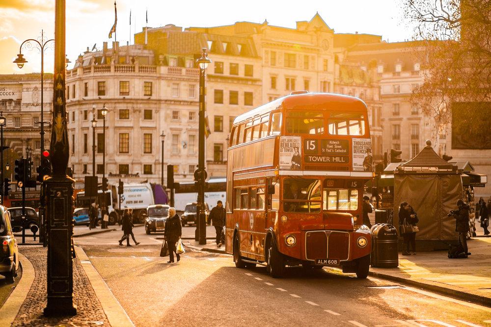 Doubledeckery jsou nesmazatelným symbolem Londýna. (foto: negativespace.co )