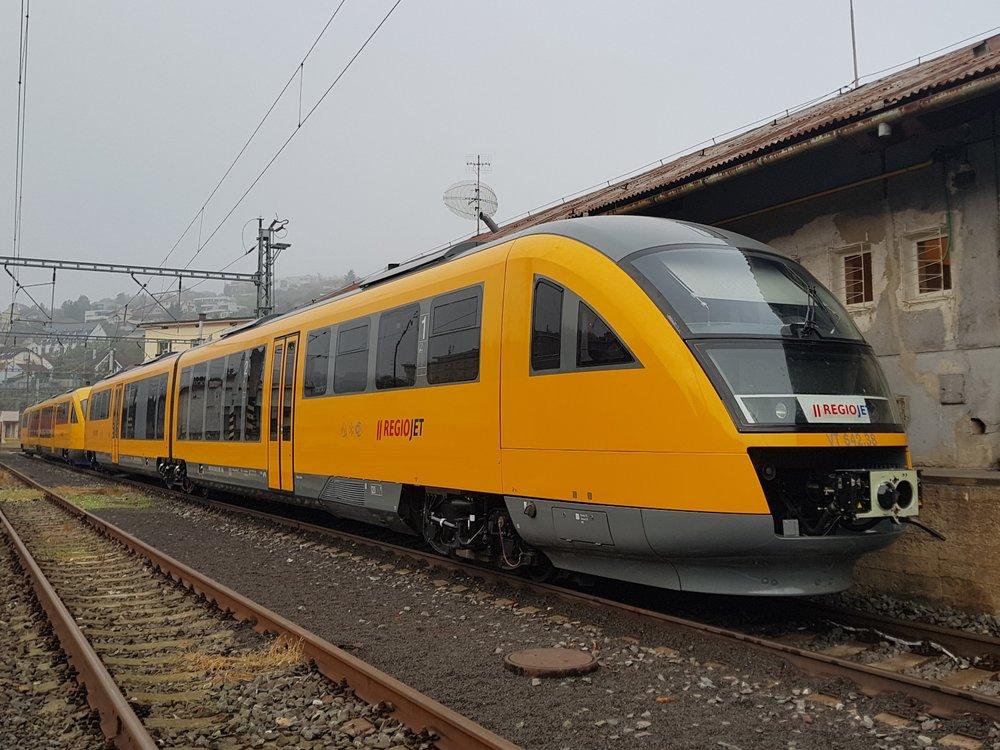 V rámci systému IDS BK bude linka RegioJetu označena jako S70. (foto: RegioJet)
