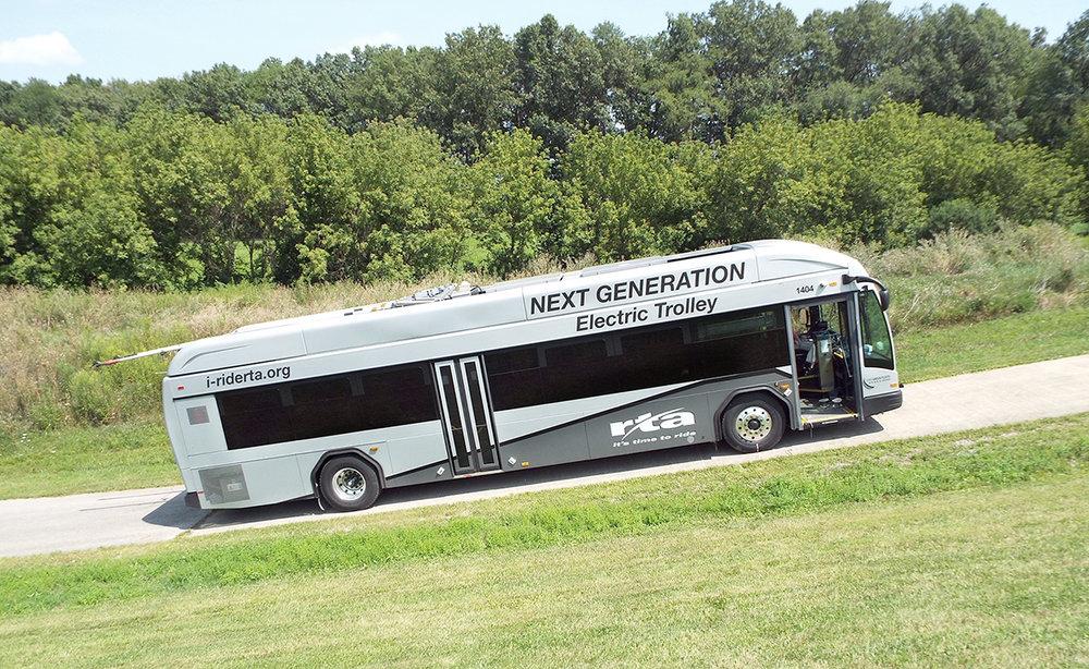 Karoserie Gillig Corp, elektrická výzbroj Kiepe Electric, to jsou nové trolejbusy pro Dayton označované jako NextGen. (foto: Kiepe Electric)