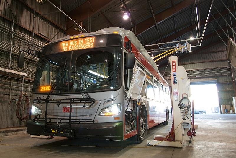Nové trolejbusy XT40 s karoserií New Flyer nahradí vozy Škoda 14 TrSF. (foto: SFMTA)