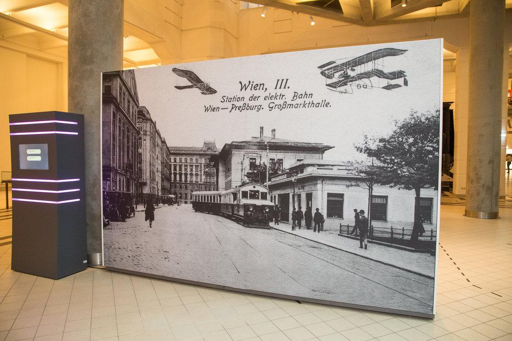 Konečná stanica Viedenskej električky Wien Grossmarkthalle. (Foto: apa-fotoservice.at)