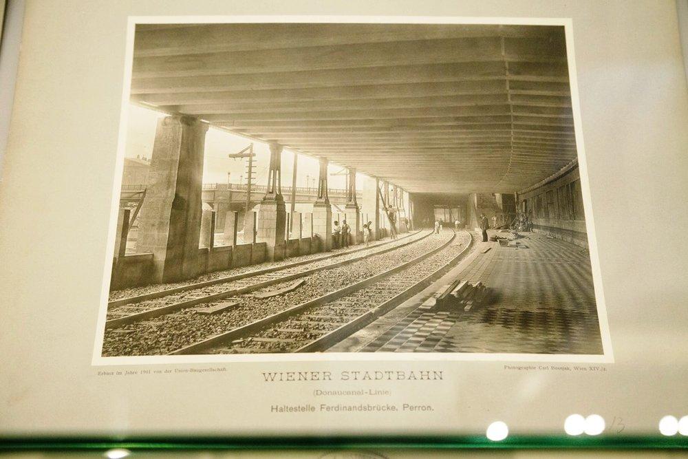 Stadtbahn Wien - výstavba.(Foto: Braňo Bibel)