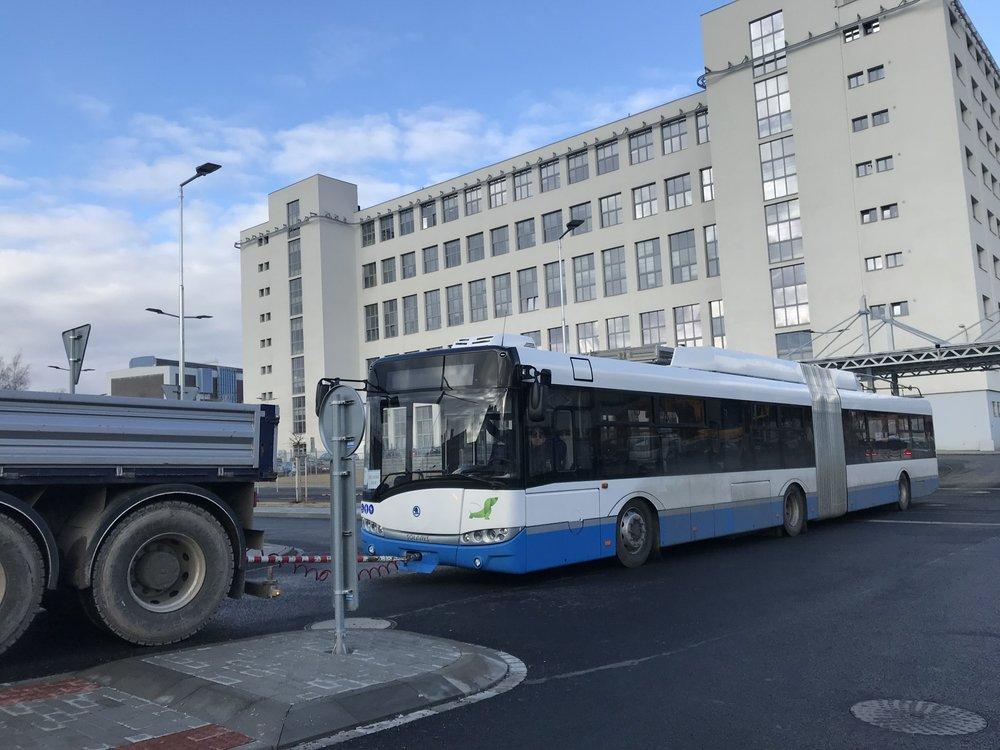Trolejbus Škoda 27 Tr pro Chomutov. (foto: DPCHJ)