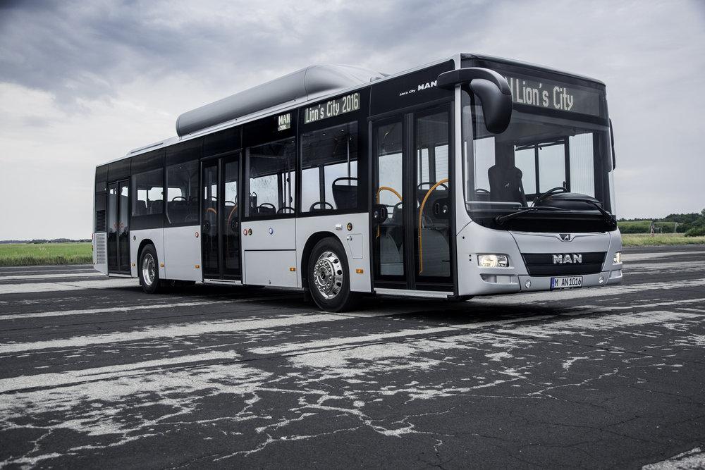 Autobus MAN Lion's City CNG na ilustrační fotografii výrobce. (foto: MAN Truck & Bus)
