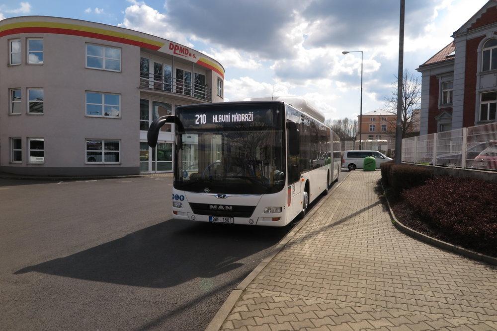 Autobus MAN Lion's City G CNG v Děčíně. (foto: BUSE)