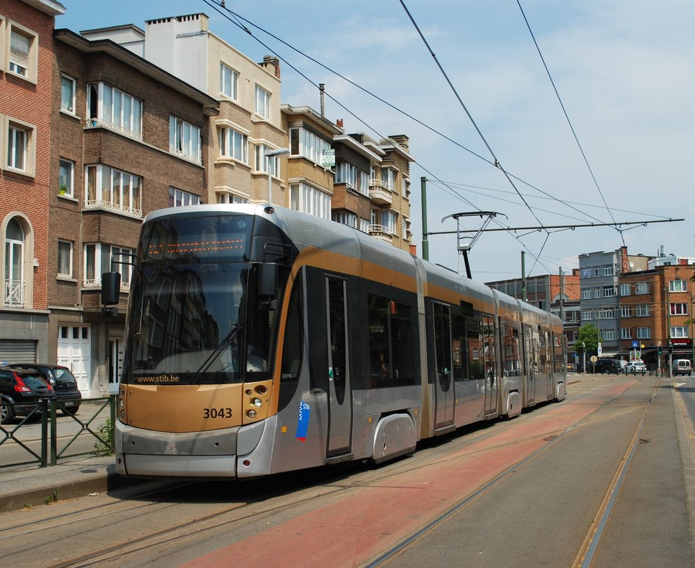 Bombardier dodal v letech 2005-15 do Bruselu 220 tramvají Flexity Outlook. (foto: Libor Hinčica)