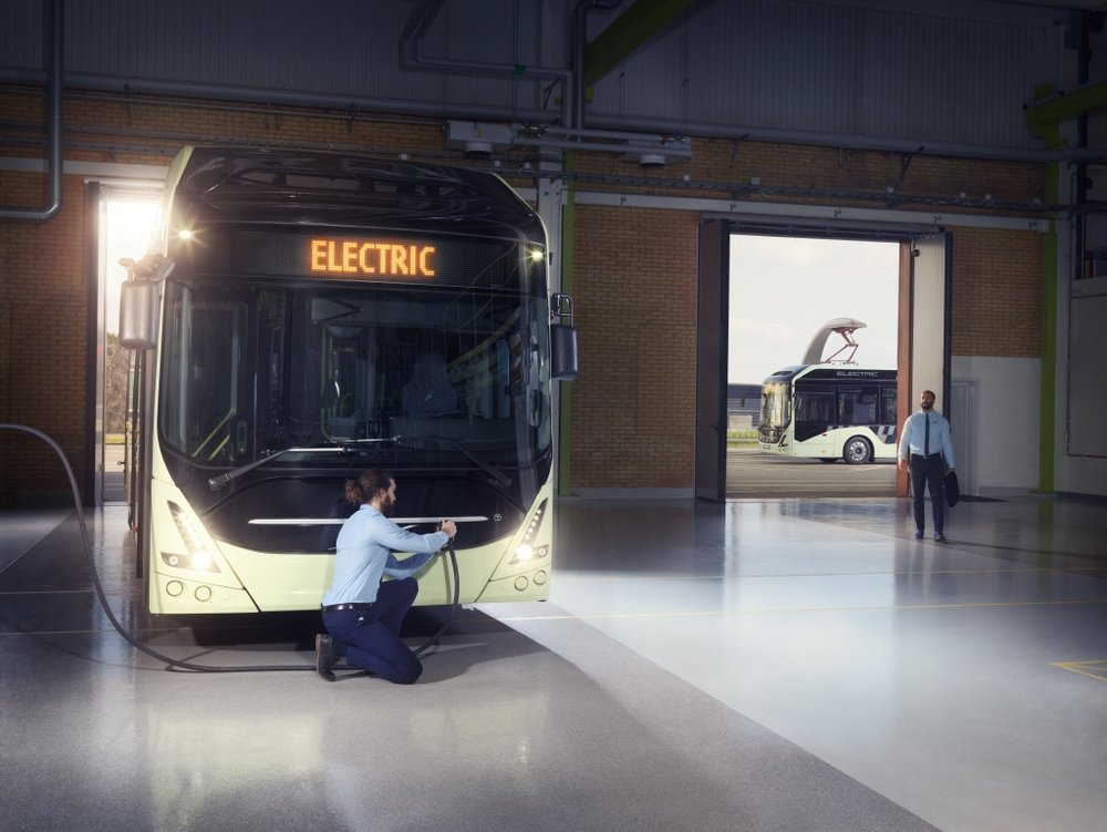 Elektrobus Volvo 7900 Electric. (foto: Volvo Buses)