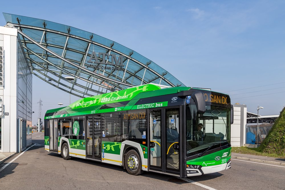 Solaris Urbino electric pro Milán. (foto: Solaris Bus & Coach)