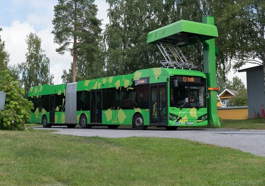Elektrobus HAW 18 LE má karoserii vyrobenou v Ostravě. (foto: Gunnar Bergluno; Hybricon)