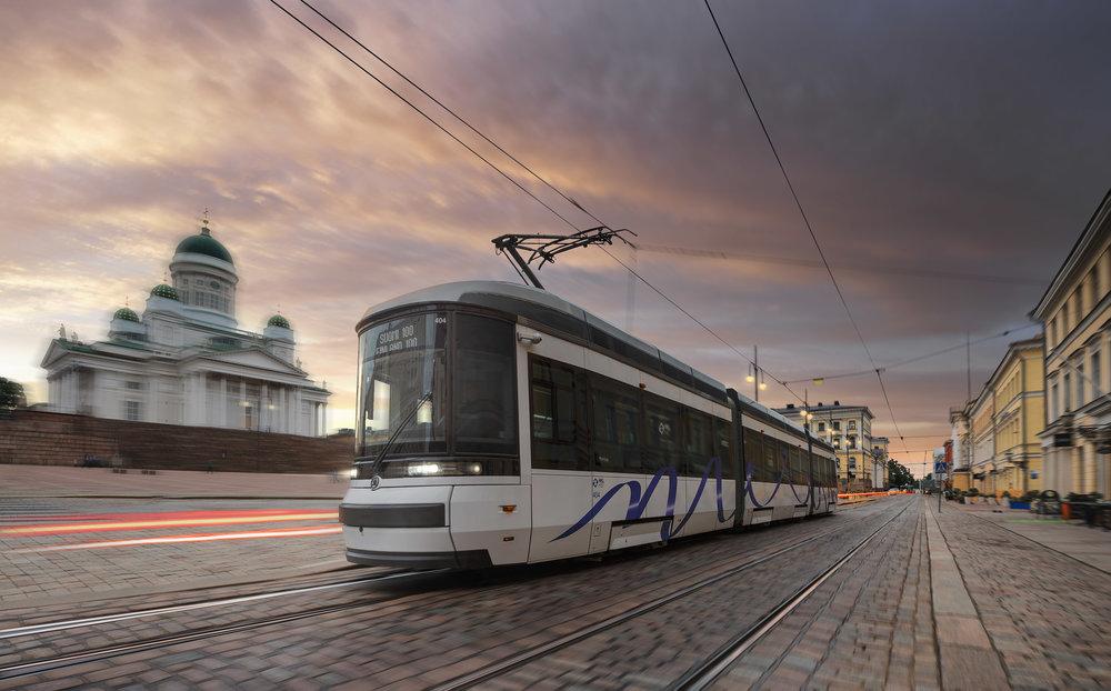 Tramvaj ForCity Smart Artic na propagačním snímku výrobce. (foto: Škoda Transportation)