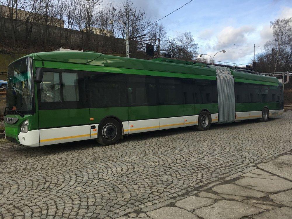 Trolejbus Škoda 35 Tr s karoserií Iveco Urbanway. (foto: Škoda Electric)
