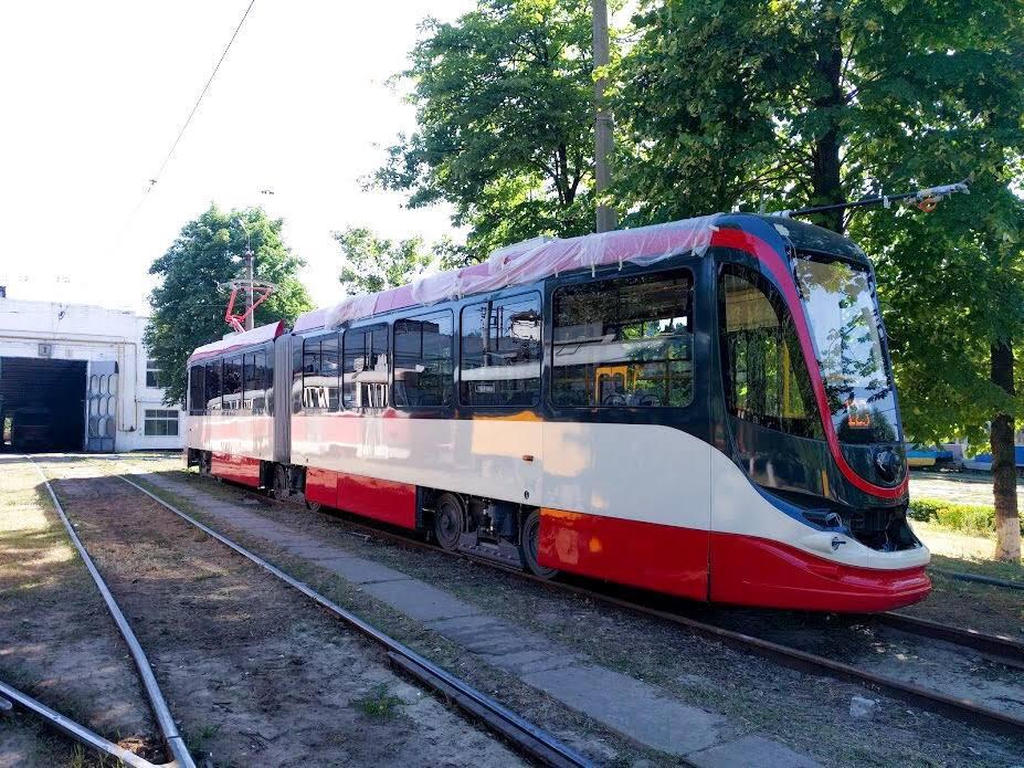 Nová tramvaj. (foto: Tatra-Jug)