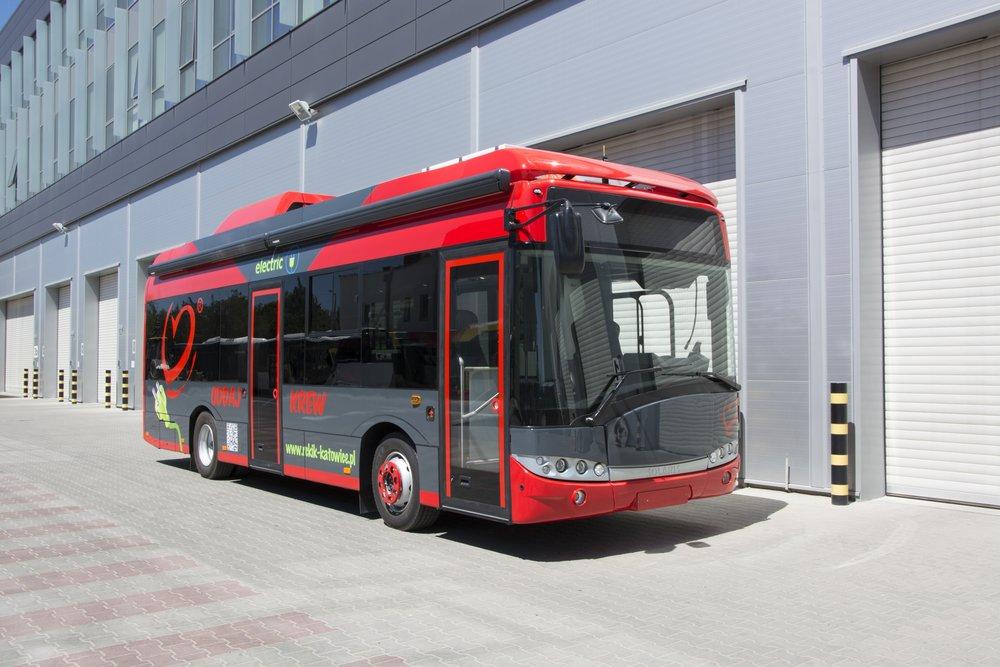 Elektrobus pro darování krve od Solarisu je postavený na platformě modelu Urbino 8,9 LE. (foto: Solaris Bus & Coach)