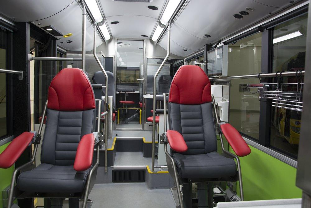 Pohled do interiéru vozidla. (foto: Solaris Bus & Coach)
