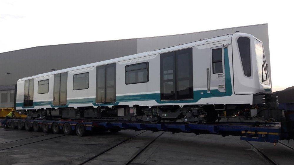 První jednotka Siemens Inspiro pro Sofii se v listopadu 2017 vydala na zkušební okruh Siemensu do Německa. (foto: Siemens)