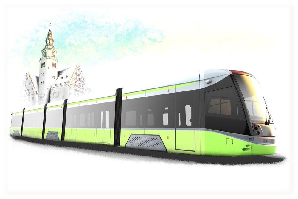 Takto by měla tramvaj z rodiny Panorama pro Olsztyn vypadat. (zdroj: Durmazlar)