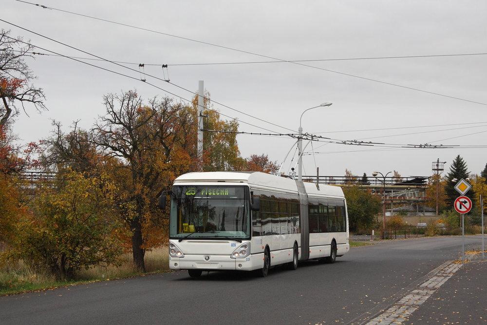 Trolejbus Škoda 25 Tr se přesunul z Chomutova do Zlína. (foto: Petr Nevyhoštěný)