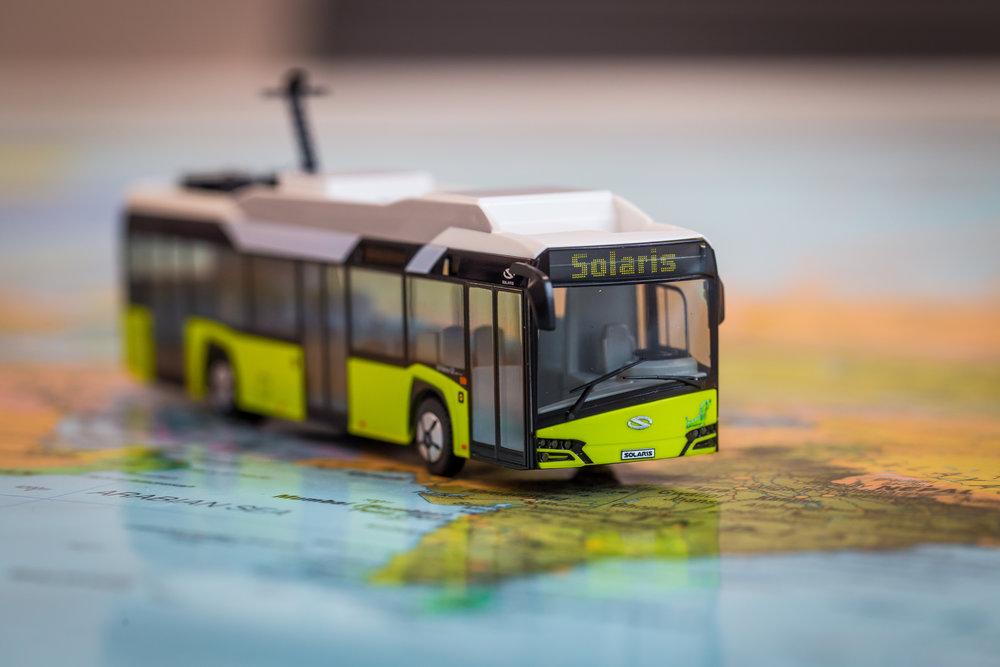 Elektrobus od Solarisu existuje i jako model v měřítku 1:87. (foto: Solaris Bus & Coach)