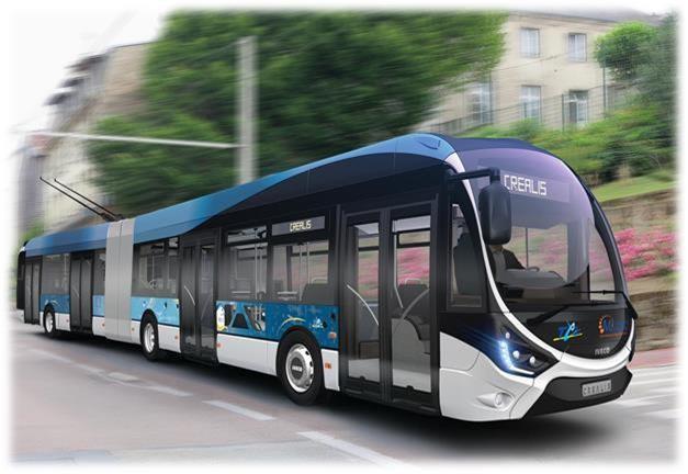 Trolejbusy by měly podle ilustrační fotografie odpovídat provedení s karoserií Crealis.(foto: Škoda Electric)