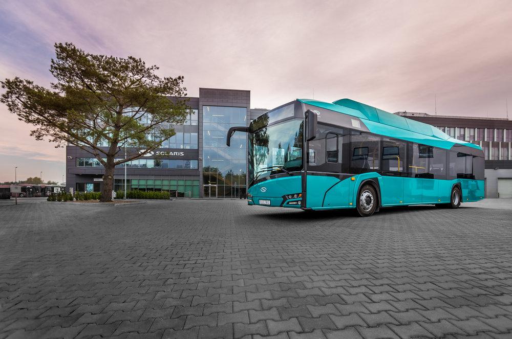 Autobus Solaris Urbino electric. (foto: Solaris Bus & Coach)