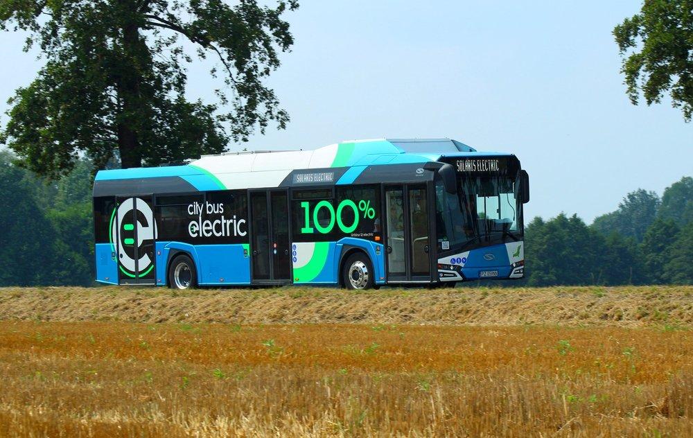Elektrobus Solaris Urbino 12 electric v Estonsku. (foto: Solaris Bus & Coach)