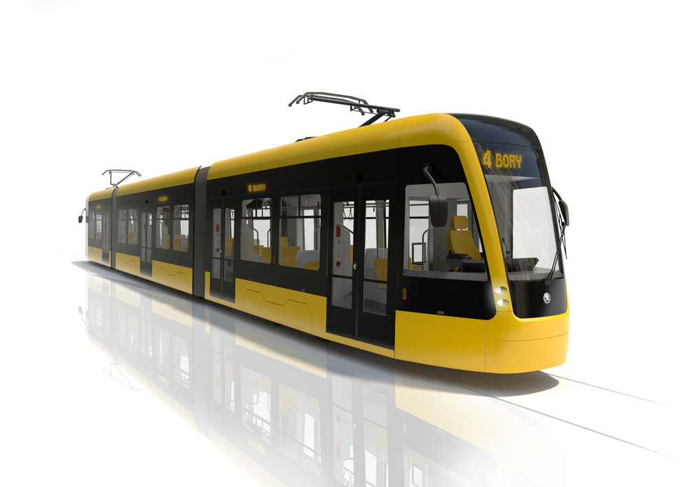 Exteriér vozidla. (foto: Škoda Transportation)